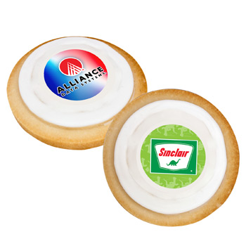 Custom Full Color Round Cookie