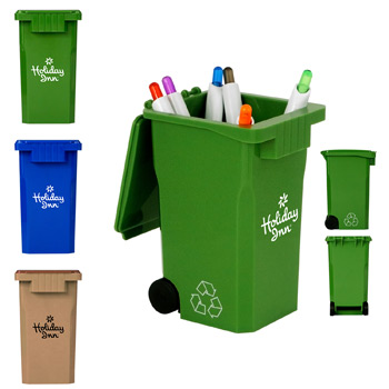 Recycle Bin Pen Holder