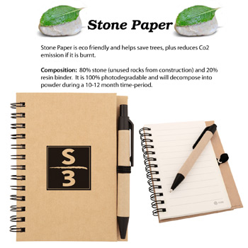 Eco Stone Notebook
