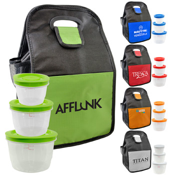 Round Portion Control Lunch Tote