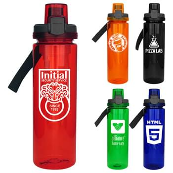 Locking Lid 24oz. Colorful Bottle with Chiller