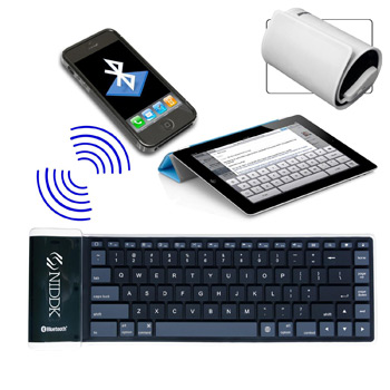Bluetooth Flexible Keyboard