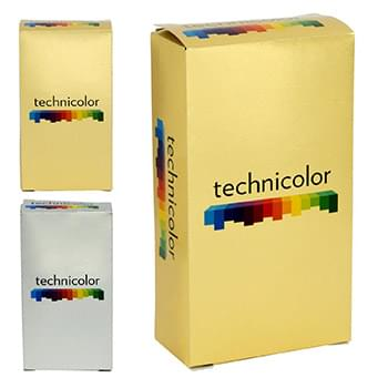 Full Color 4 x 2 Metallic Box
