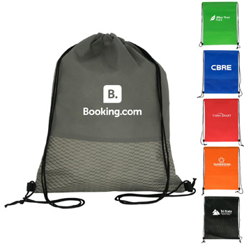 Wave Drawstring Backpack