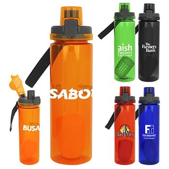Locking Lid 24 oz. Colorful Bottle with Floating Infuser