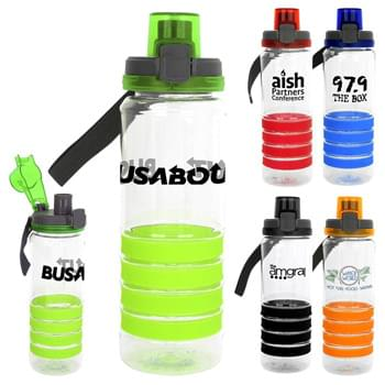 Locking Lid 28 Oz. Sporty Ring Bottle