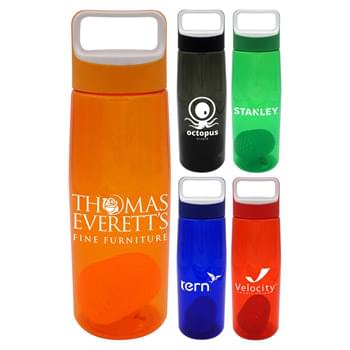 Boxy 25 oz. Colorful Contour Bottle with Floating Infuser