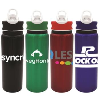 Two Tone 24 Oz. Aluminum Bottle