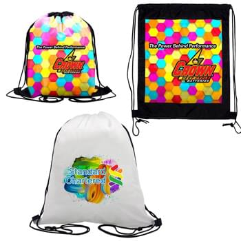 Vibrant Drawstring Backpack