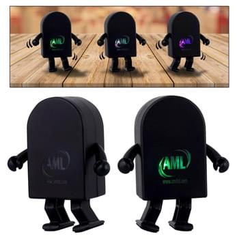 Dancing Light Up Logo Bluetooth Speaker