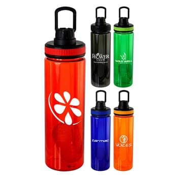 Band-It 24 oz. Colorful Bottle w Floating Infuser
