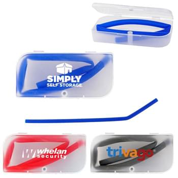 Travel Straw Case