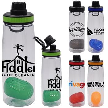 Band-It 25 oz. Contour Bottle with Floating Infuser