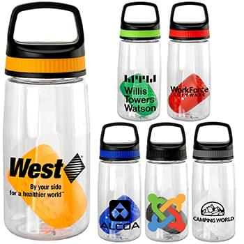 Handy Band-It 18 oz. Bottle with Floating Infuser