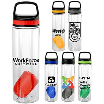 Handy Band-It 24 oz Bottle with Floating Infuser