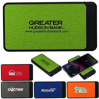 UL Heather High Density Swift Wireless Power Bank