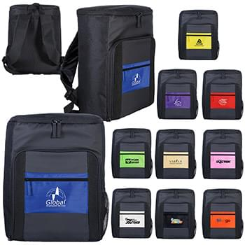 Colorful Pocket Cooler Backpack