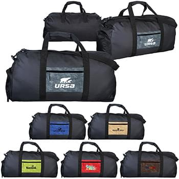 Watermark Pocket Duffle Bag