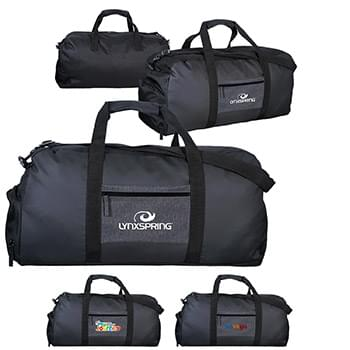 G Line Pocket Duffle Bag