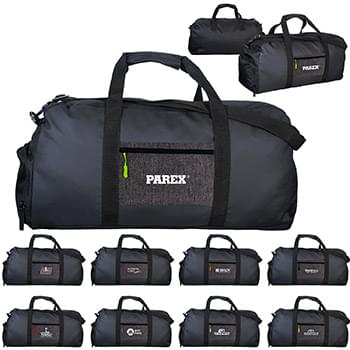 X Line Pocket Duffle Bag