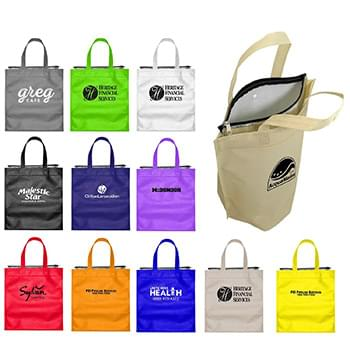 Insulated Snap Gift Bag