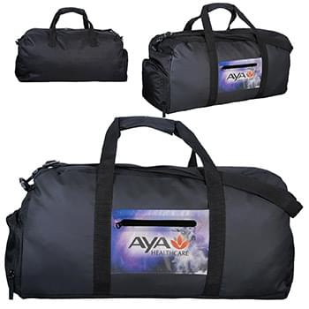 Full Color Pocket Duffle Bag