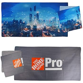 24 x 12 Heather Microfiber Towel