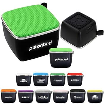 Mini Light Up Logo Bluetooth Speaker