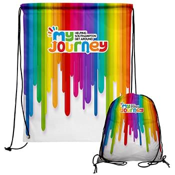 Full Color Drawstring Backpack
