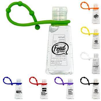 Trapezoid Hand Sanitizer with Grip