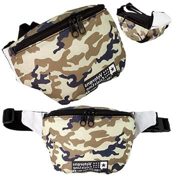 Full Color Anti-Theft Fanny Pack