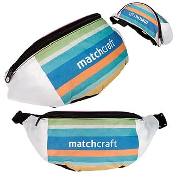 Full Color Travel Fanny Pack